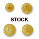 Metal tokens In stock for immediate delivery