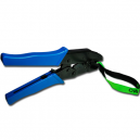 Crimping pliers for securing festival wristbands