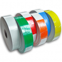 Rolls of direct thermal wristbands for JMB4+ printing system