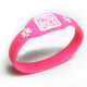 Rubber wristbands in special shape.