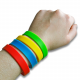 Neutral silicone wristbands not customized