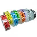 Ticket rolls for events and admission