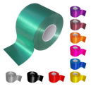 Finish line ribbon rolls in different colors