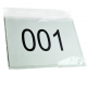 Race numbers in stock packed in PP bag