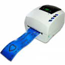 JMB4+ thermal printer with a wreath ribbon printed