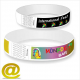 Paper wristbands with full color printing