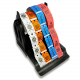Rolls holder for up to 5 ticket rolls