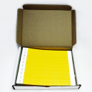 1000 Paper wristbands in a box without printing