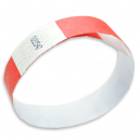 High quality paper wristbands with single colour backgound