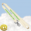 Lanyards Cotton Via eMail