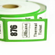 Thermal roll tickets with custom printing