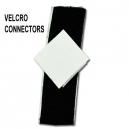 Velcro connectors for sashes