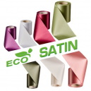 Fabric ribbons, viscose (Rayon) - acetate, made of wood cellulose. Ecological textile for Inauguration ribbons.