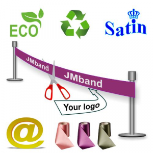 Ecological, environmentally friendly and sustainable Inauguration ribbon  Via eMail