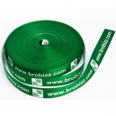 Printed gift ribbon made of polyester satin