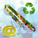 Sustainable and environmentally friendly printed Lanyards
