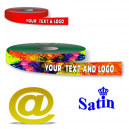 Gift ribbon polyester full colour digital printing