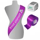 Print yourself sashes on a JMB4+ printing system
