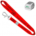 Print yourself lanyards using JMB4+ thermal printer