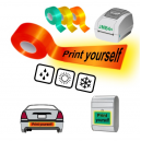 Print yourself using JMB4+ thermal printer on reflective tapes