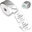 Print yourself tickets and coupons with JMB4+ thermal direct printer