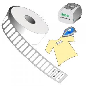Print yourself iron-on name labels using JMB4+ thermal printer