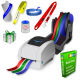 JMB4+ thermal printer that prints on rolls of paper ribbons, polyester ribbons and polyprotex ribbons
