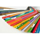 Assorted PVC cards with color printing
