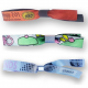 Admission control textile festival wristbands with custom woven pattern