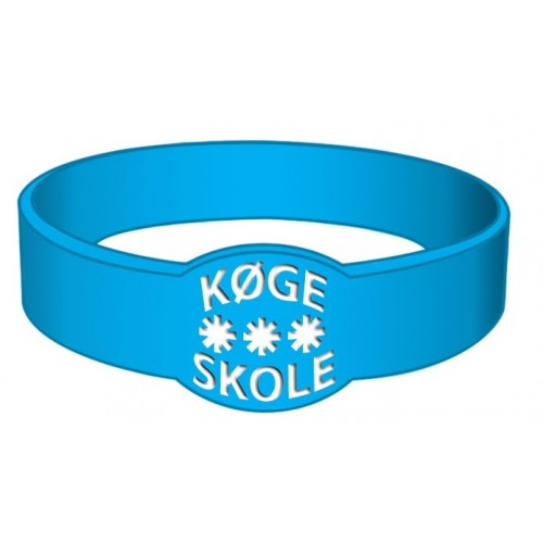 Custom made in special shapes silicone wristbands