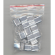 Aluminum crimping rings in a PP bag