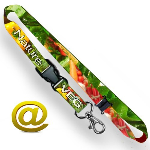 Lanyards with sublimation printing in full color