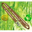Lanyards ECO bamboo Via eMail
