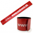 Slap wristbands with your text and logo