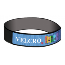 Velcro® wristbands with woven strip on top
