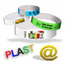 Plastic wristbands H send your design