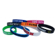 Debossed silicone wristbands send your design