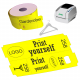 Direct thermal cloakroom ticket rolls for JMB4 printer