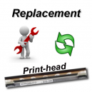 Print-head replacement