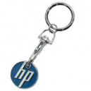 Key chain with trolley token