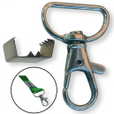 Lock and clamp for making you own lanyards
