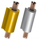 Foils in gold and silver for thermal transfer printer JMB4