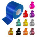 Ribbon rolls in different colors for sash production