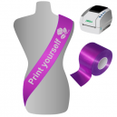 Print yourself sashes on a JMB4 printing system