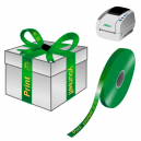 Print yourself gift ribbons on a JMB4 thermal printer