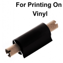 Foils for thermal transfer printing on vinyl