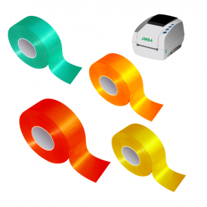 Rolls of reflective adhesive tape for JMB4+ thermal transfer printer