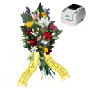 Print as you want when you want, bouquet ribbons using JMB4 thermal printer