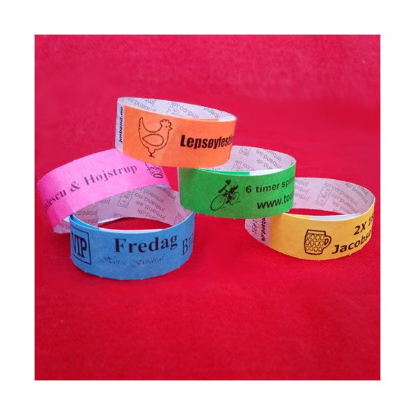 custom paper wristbands Wristco carries tyvek wristband and plastic wristband options for every event including custom tyvek wristbands that are secure, unique and affordable.