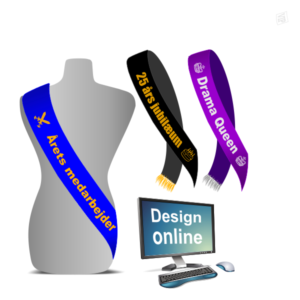 Design online your own shash